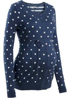 Мода для беременных: кардиган в горошек (фиолетовая орхидея в горошек) Bonprix