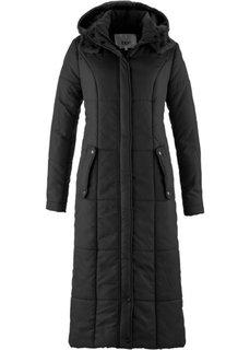 Легкая стеганая куртка длинного покроя (капучино) Bonprix