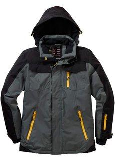 Функциональная куртка (оливковый/черный) Bonprix