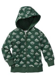 Трикотажная куртка с капюшоном, Размеры 80/86-128/134 (сиреневая фиалка с рисунком) Bonprix