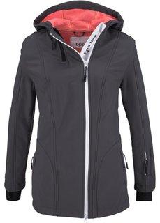 Куртка-софтшелл (лососевый неон) Bonprix