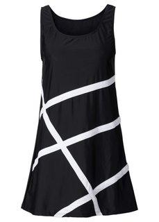 Пляжное платье из купального материала (белый) Bonprix