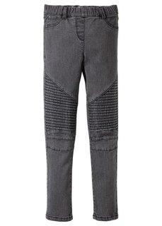 Джегинсы со стегаными вставками на коленках, Размеры 116-170 (синий «потертый») Bonprix