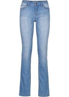 Формирующие джинсы-стретч STRAIGHT, cредний рост (N) (темно-синий) Bonprix
