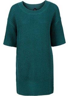 Пуловер в стиле оверсайз (черный) Bonprix