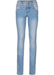 Стройнящие джинсы-стретч SLIM, низкий рост (K) (синий) Bonprix