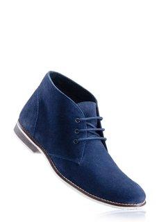 Замшевые ботинки (темно-коричневый) Bonprix