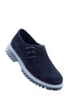Замшевые туфли (серо-коричневый) Bonprix