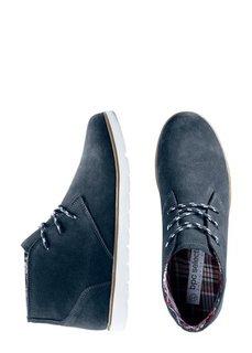 Замшевые ботинки (морской) Bonprix