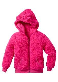 Плюшевая куртка (светло-серый меланж) Bonprix