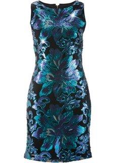 Платье с пайетками ПРЕМИУМ (цвет фуксии/темно-красный) Bonprix