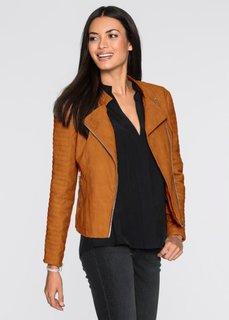 Байкерская куртка (бронзовый) Bonprix