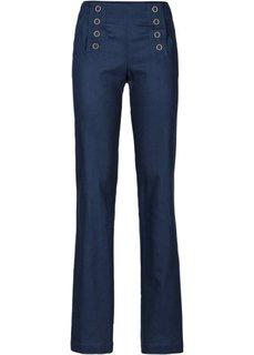 Льняные брюки (цвет белой шерсти) Bonprix