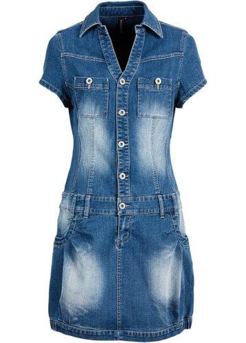 Джинсовое платье (аутентичный деним)