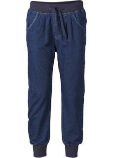 Спортивные джинсы (черный) Bonprix