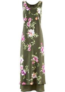 Платье (нежно-лимонный в цветочек) Bonprix
