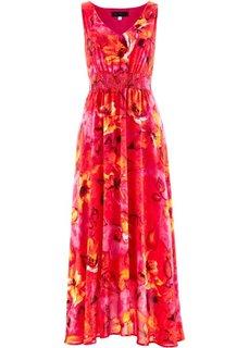 Платье (лазурный с рисунком) Bonprix