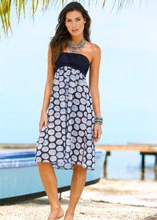 Пляжное платье 5 в 1 (синий) Bonprix