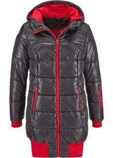 Длинная стеганая куртка (ночная синь) Bonprix