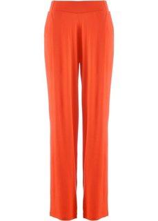 Трикотажные брюки-палаццо (черный) Bonprix