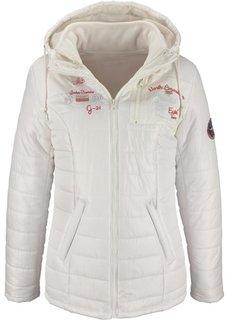 Зимняя куртка 2 в 1 с вышивками (темно-синий) Bonprix