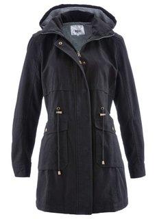 Куртка-парка на трикотажной подкладке (темно-синий) Bonprix