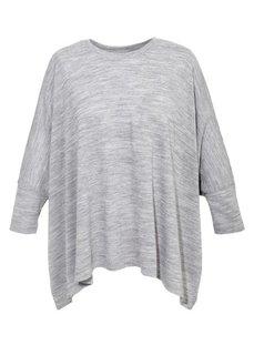 Пуловер (дымчато-розовый) Bonprix