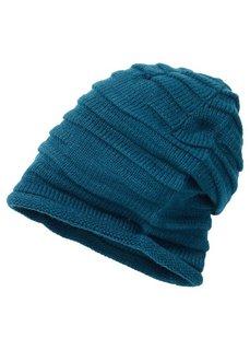 Драпированная шапочка Уни (черный) Bonprix