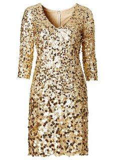 Платье (темно-коричневый) Bonprix