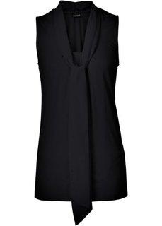 Трикотажная блузка (красный в горошек) Bonprix
