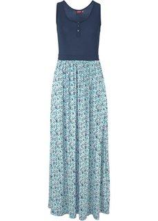 Трикотажное макси-платье (ярко-розовый) Bonprix
