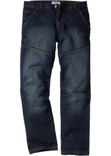 Джинсы Regular Fit Straight, cредний рост (N) (синий («грязный»)) Bonprix