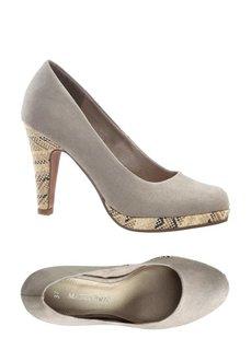 Туфли (серо-коричневый) Bonprix