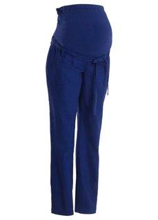 Льняные брюки для будущих мам (белый) Bonprix