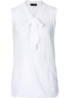 Шифоновая блузка (дымчато-розовый) Bonprix