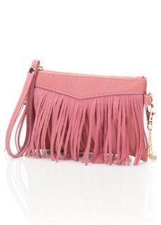 Маленькая сумочка с бахромой (коньячный) Bonprix