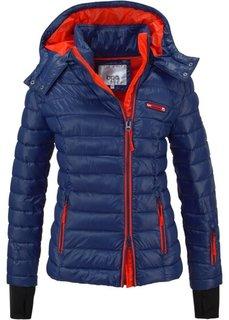 Стеганая куртка для активного отдыха (мандариново-красный) Bonprix