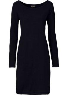 Вязаное платье (сине-зеленый матовый) Bonprix