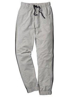 Спортивные брюки (антрацитовый меланж) Bonprix