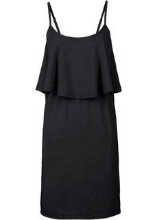 Платье с воланом (различные расцветки) Bonprix