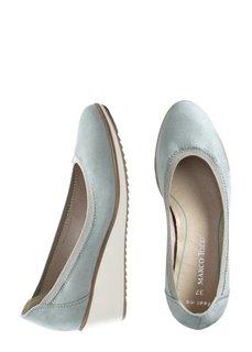 Туфли на танкетке (мятный) Bonprix