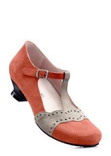 Замшевые туфли Мэри Джейн (черный) Bonprix