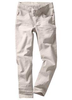 Брюки Slim Fit с потертостями, Размеры 116-170 (черный) Bonprix