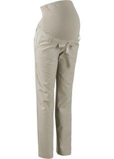 Льняные брюки для будущих мам (ночная синь) Bonprix