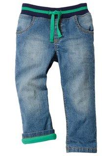 Термоджинсы (синий «потертый»/дымчто-серый) Bonprix