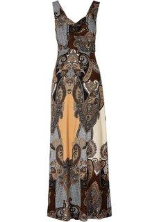 Макси-платье (лиловый) Bonprix