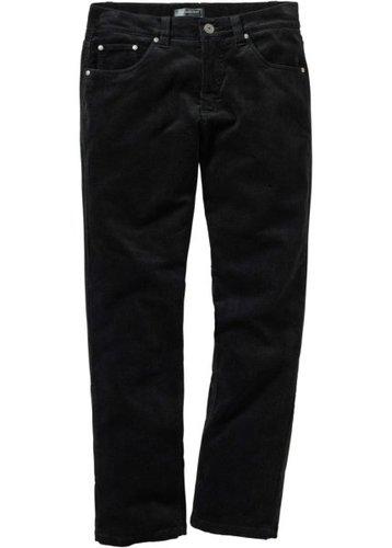 Вельветовые брюки, низкий + высокий рост (U + S) (темно-синий)