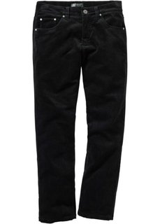 Вельветовые брюки, низкий + высокий рост (U + S) (темно-синий) Bonprix