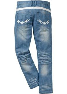 Джинсы Regular Fit Straight, длина (в дюймах) 32 (нежно-голубой выбеленный «поте) Bonprix