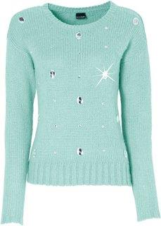 Пуловер (шиферно-серый) Bonprix